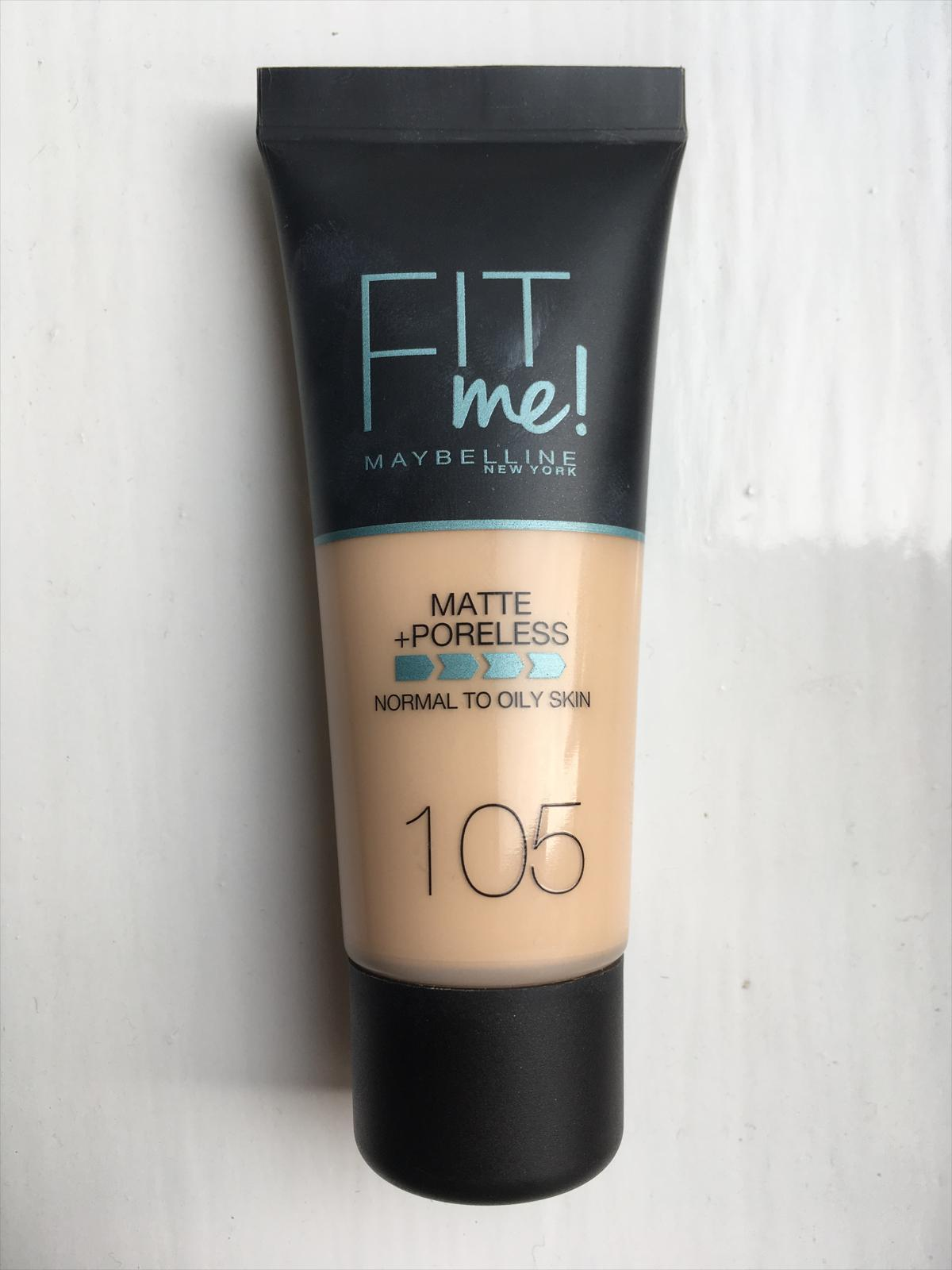 Maybelline Fit Me Matte Poreless Foundation 104 Soft Ivory Superdrug